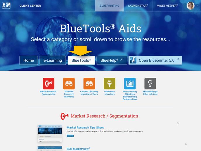Blueprinting Center - BlueTools