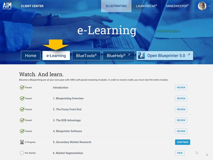 Blueprinting Center - e-Learning-2