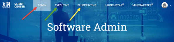 Blueprinting Center Admin and Exec Access