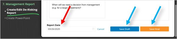 Management report - Save